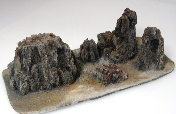 Cripplebush Valley Models - Basalts: Pinnacles