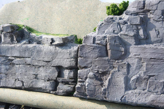 Cripplebush Valley Models - Quarry Walls